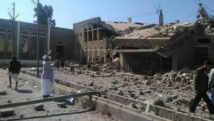 Арабская коалиция отрицает обвинения в атаке посольства Ирана в Йемене