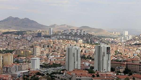 Вид на Анкару. Турция. Архивное фото