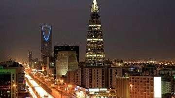 Вид на Эр-Рияд, Саудовская Аравия, архивное фото