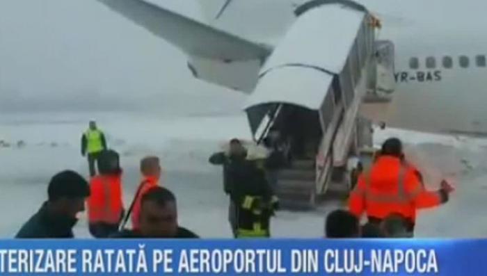 Севший в Румынии Boeing выкатился за пределы ВПП