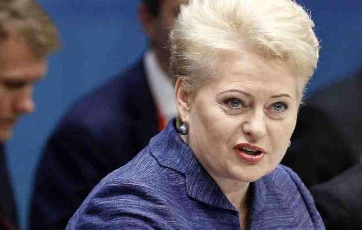 Раньше Грибаускайте была «Магнолией» и работала интердевочкой КГБ
