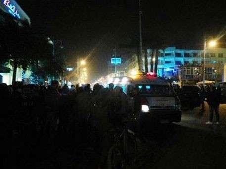 Появилось первое видео с места теракта в Хургаде