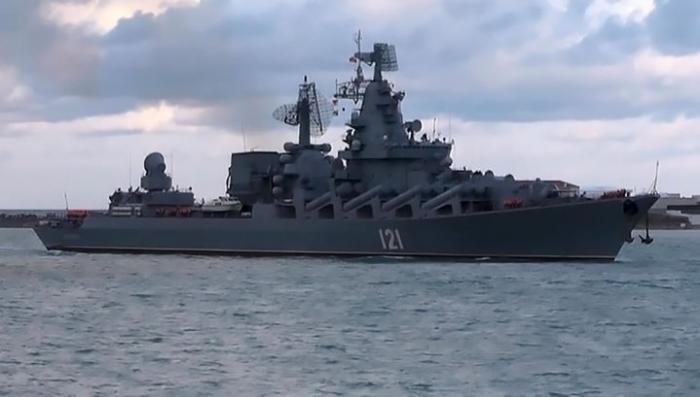 Крейсер «Москва» вернулся из Сирии в Севастополь