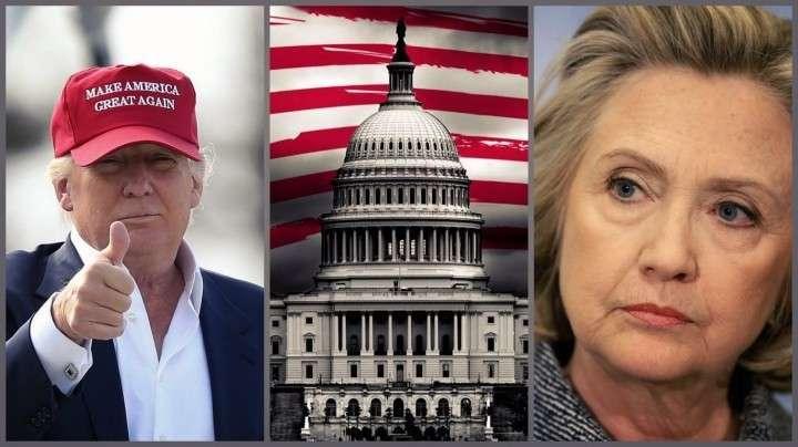 Выборы в США превратились в дуэль Хиллари и Трампа
