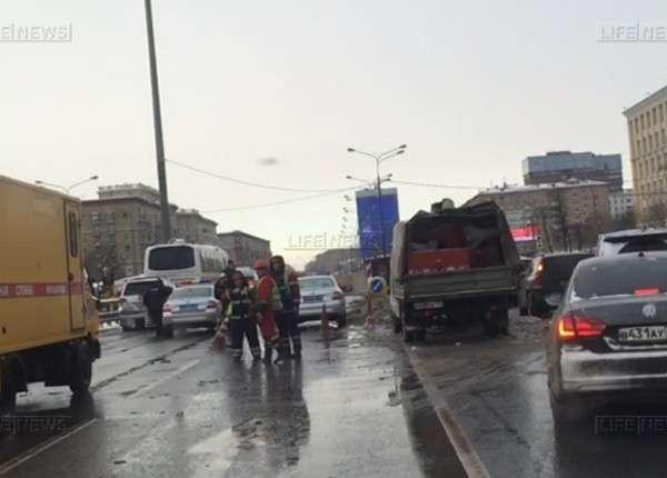 Волоколамский тоннель открыли в Москве для автомобилистов