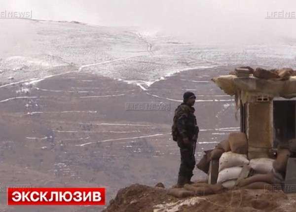 В Сирии боевики сдаются в плен, чтобы не погибнуть от холода
