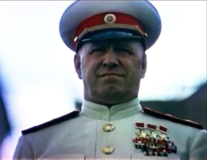 Вожди 1945 года в цвете
