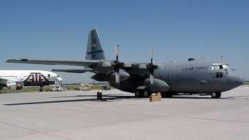 Авиабаза Военно-воздушных сил (ВВС) США Манас