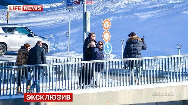 Михаил Касьянов (Миша 2%) с размахом отметил Рождество на курорте в Санкт-Морице