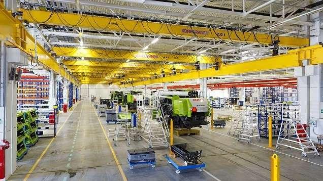 Первый комбайн TUCANO сошёл с нового конвейера в Краснодаре
