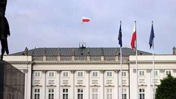 Президентский дворец в Варшаве, Польша. Архивное фото