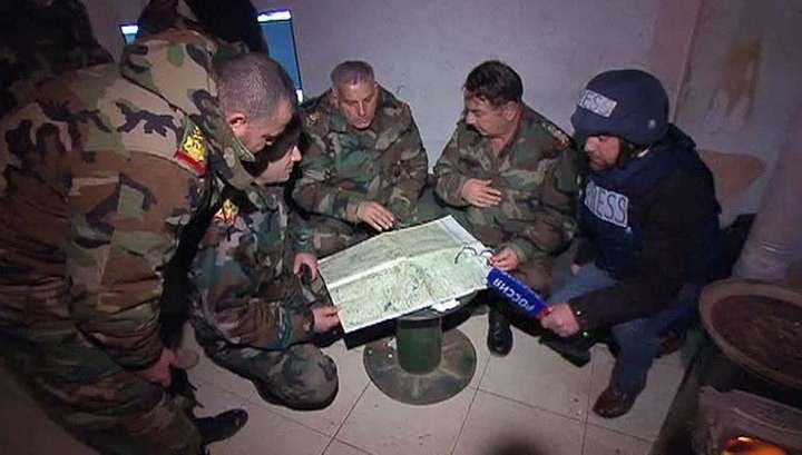 Сирийские войска берут под контроль Сальму