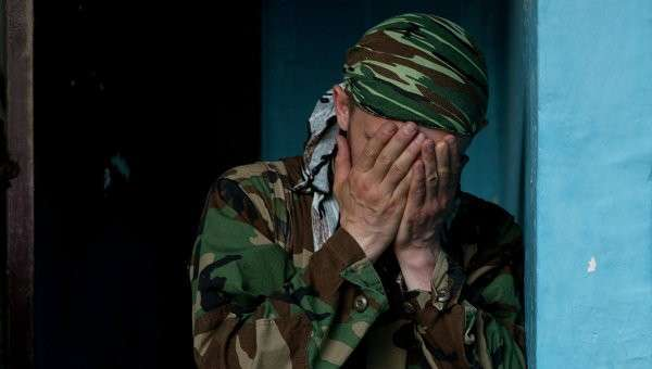Боец народного ополчения. Архивное фото