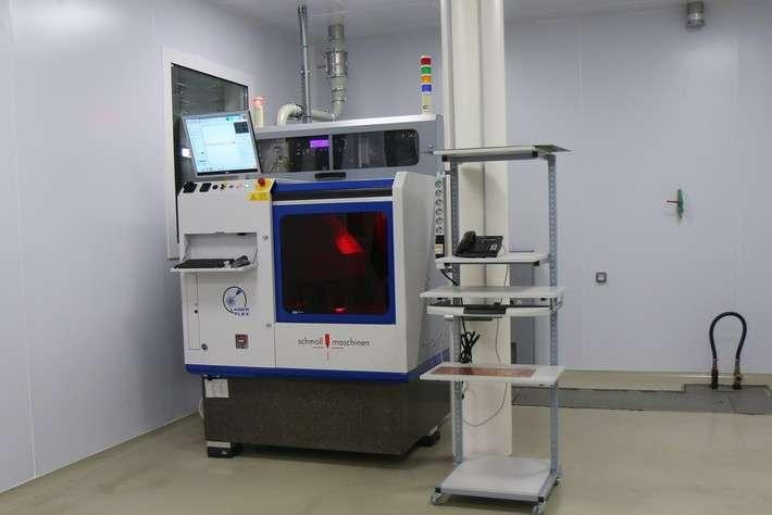 Установка лазерной резки и сверления