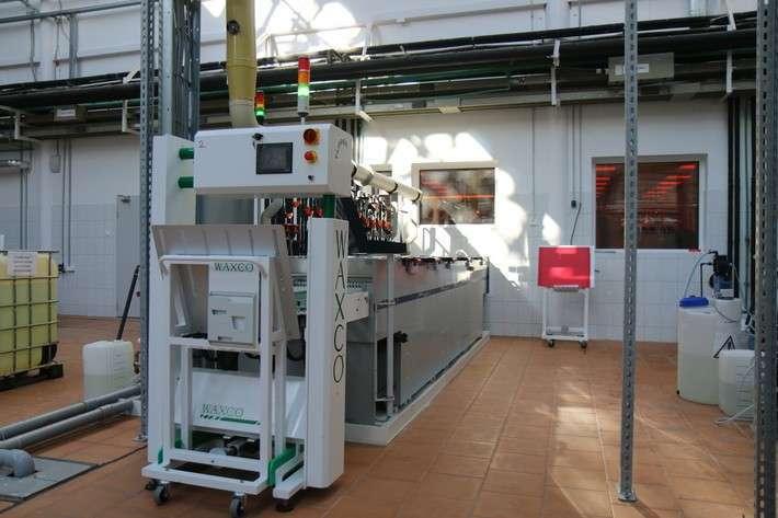 Установка химической подготовки поверхности
