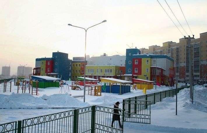В Омске открыт детский сад на 300 мест