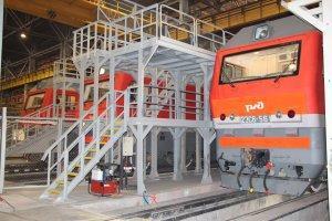 В 2015 году завод «Уральские локомотивы» выпустил рекордное количество электровозов 2ЭС6