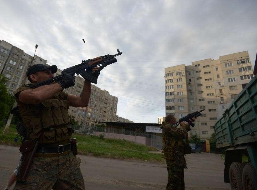 Ополченцы сбили штурмовик и боевой вертолёт ВВС Украины