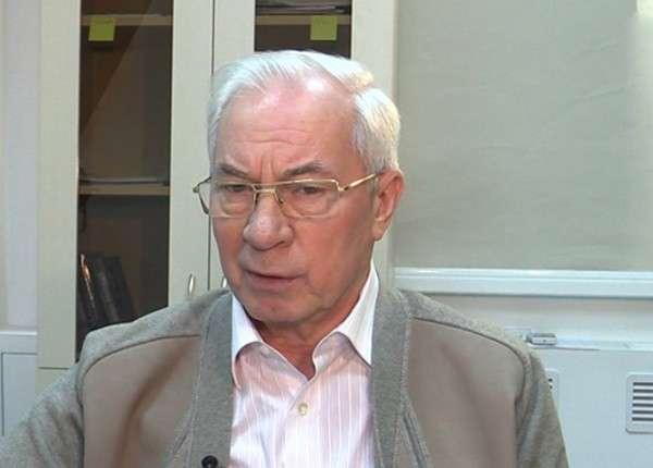 Николай Азаров: время Порошенко подошло к концу