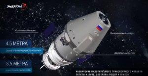 Новый космический корабль России получит название «Федерация»