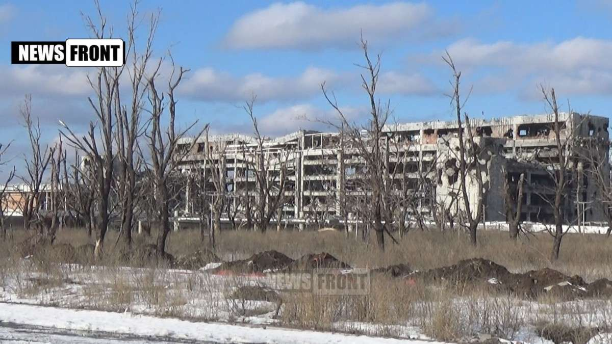Чешская делегация в Донецке побывала на местах разрушений после обстрелов ВСУ