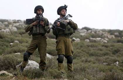 Солдаты армии обороны Израиля