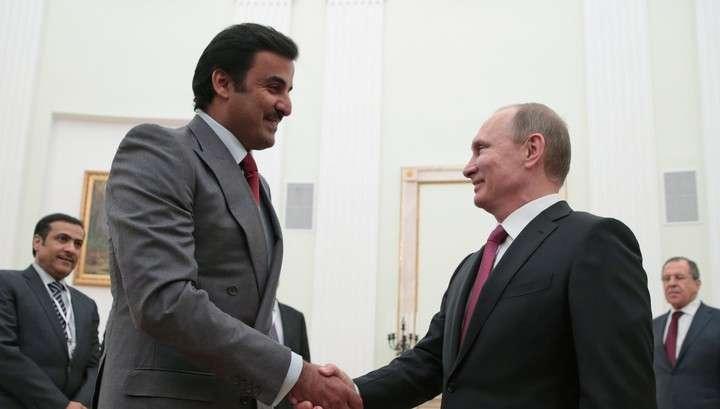 Визит эмира Катара в Москву: первые итоги