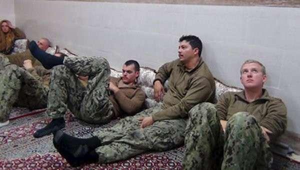 Американские моряки, задержанные ВМС Ирана