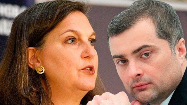 Сурков и Нудельман определяли механизм ухода пиндосов из Украины