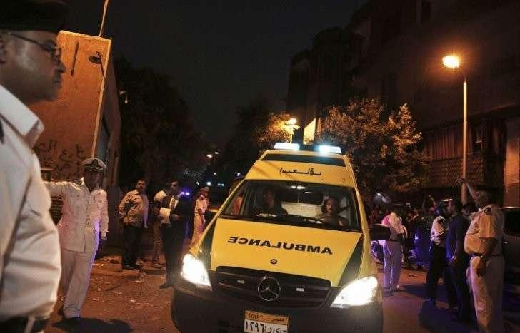 При взрыве в Каире погибли 10 человек, в том числе 7 полицейских
