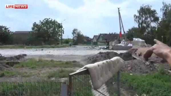 Войска украинской Хунты продолжают убивать народ на Юго-Востоке
