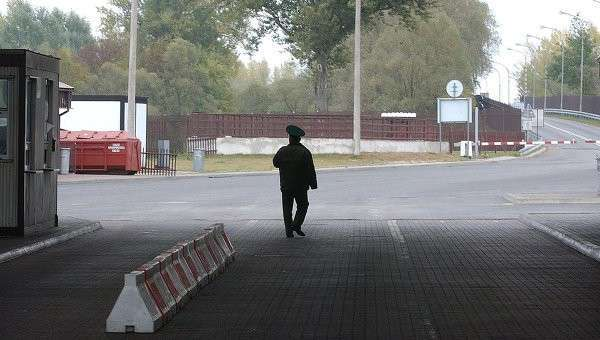 Польский пограничник, архивное фото