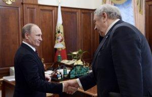Президент России Владимир Путин встретился с президентом Российской Академии Наук (РАН) Владимиром Фортовым