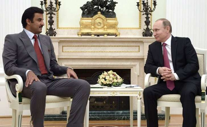 Ультиматум Катара Владимиру Путину