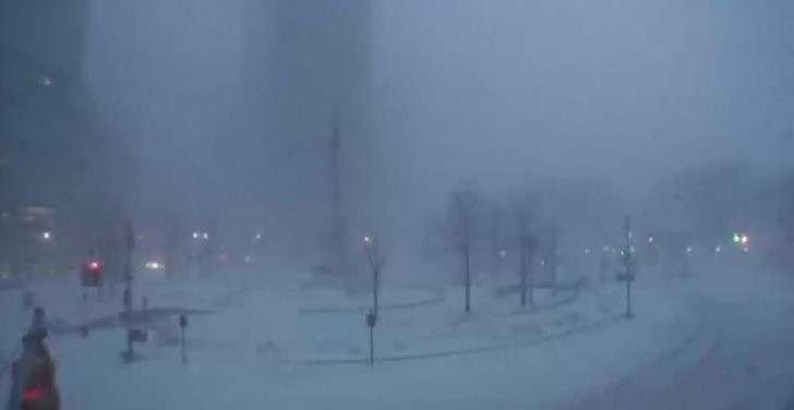 «Снегопад века» накрыл Восточное побережье США — прямая трансляция