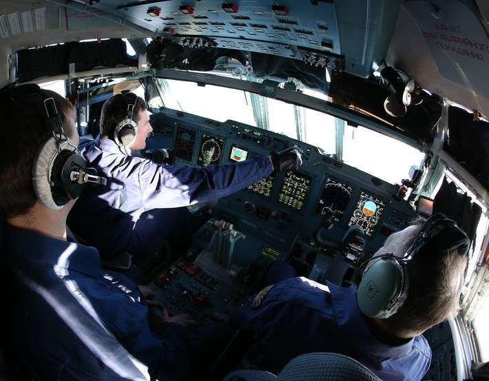 Первые полёты Ил-76МД-90А в составе ВТА России