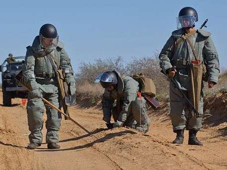 Противовертолетные и противодесантные мины разработаны в России