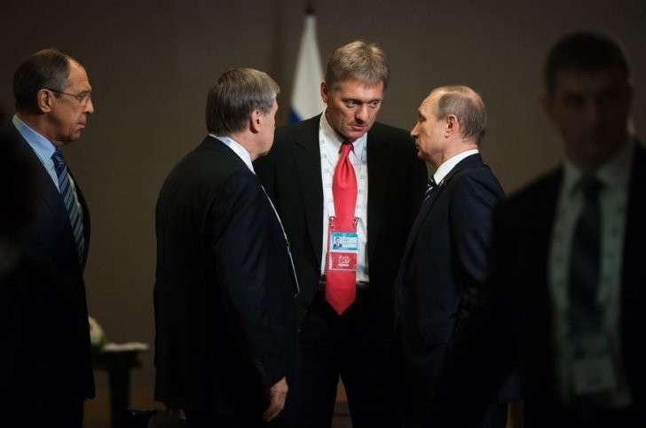 В Кремле назвали «чистым вымыслом» обвинения Владимира Путина в коррупции со стороны властей США