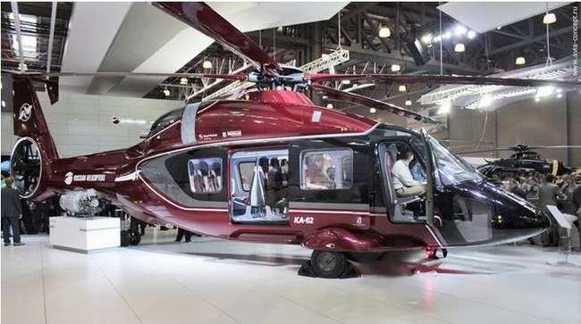 Рассказ о новом, красивом вертолёте