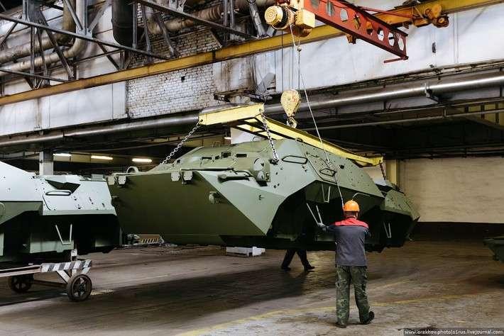 Как делают БТР? Арзамасский машиностроительный завод