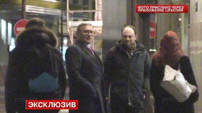 Касьянов приехал в Страсбург за деньгами для российской оппозиции