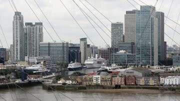 Вид Лондона. Архивное фото