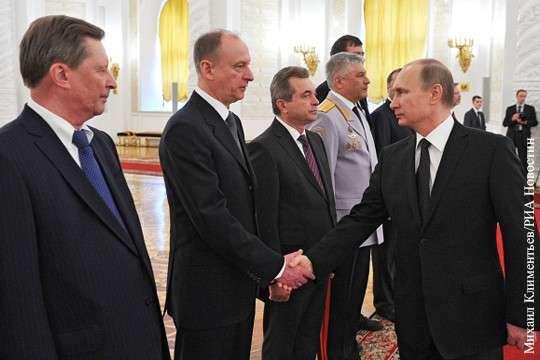 Служили три товарища – Николай Патрушев с Сергеем Ивановым и Владимиром Путиным