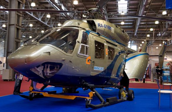 Вертолет Kawasaki BK 117C-1 (фото: wikipedia/Dmitry A. Mottl )