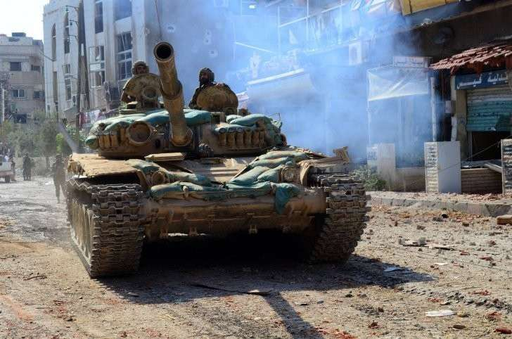 Сводка боевых действий Сирия 26 01 2016
