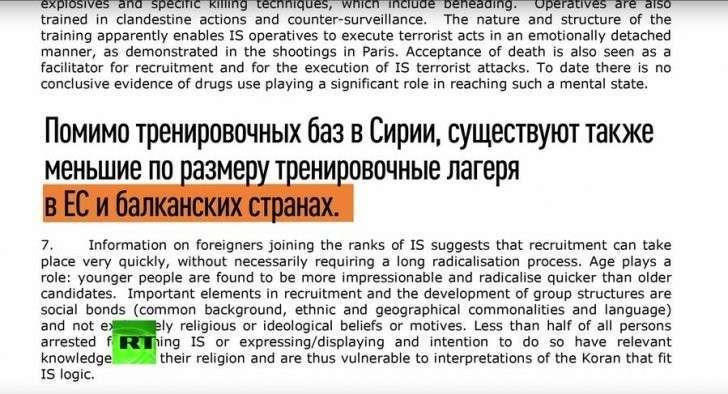 В странах ЕС функционируют тренировочные лагеря ИГИЛ