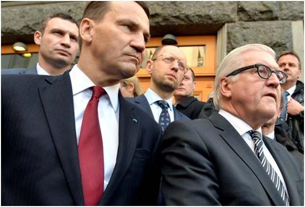 Грязный заговорщик Франк-Вальтер Штайнмайер пытался нарубить Сергею Лаврову