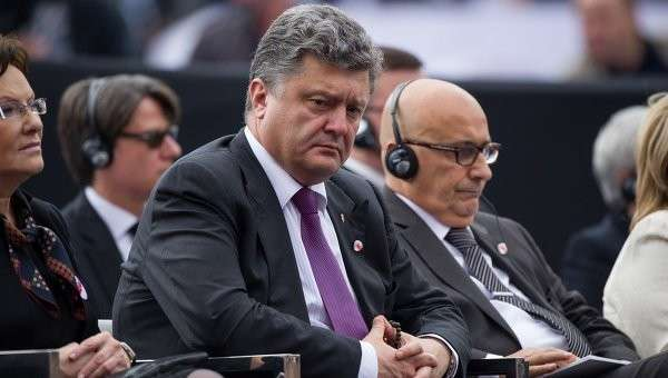 Петр Порошенко во время своего визита в Польшу. Архивное фото