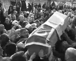 Похороны Ибрагима Кучука (фото: кадр из видео Haberler.com)