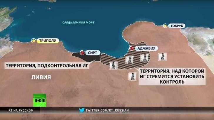 США планируют начать новую военную операцию в Ливии — на этот раз против боевиков ИГ